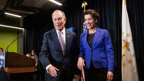 Rhode Island governor backs Mike Bloomberg for president