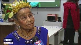 Harlem woman celebrates her 100th birthday