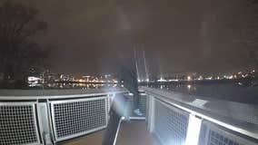 Newark cops help man threatening to jump into river