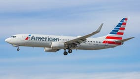 American Airlines passenger says man assaulted her by continuously punching seat