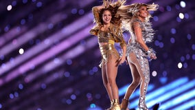 Jennifer Lopez and Shakira light up Super Bowl LIV halftime show