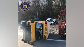 School bus crashes in Sullivan County