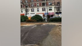Water main break in Morningside Heights causing subway problems