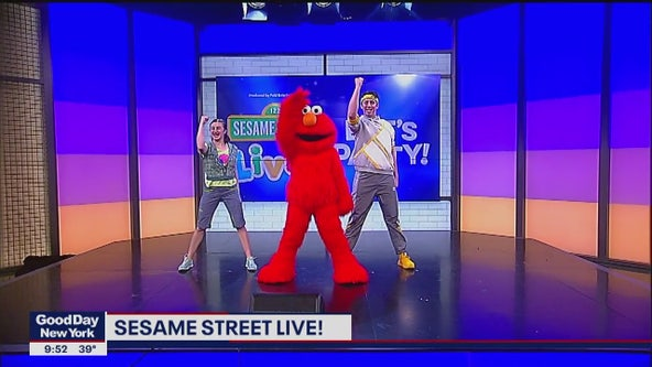 Elmo previews Sesame Street LIVE