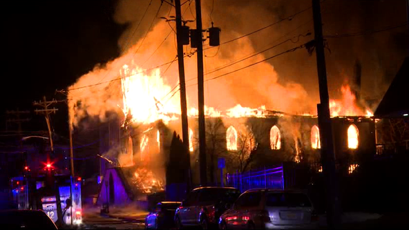 NJ church founded in 1879 'trying to rebuild' after fire