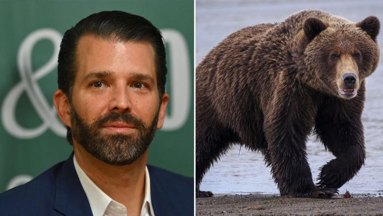 GETTY_Donald Trump Jr_Grizzly Bear