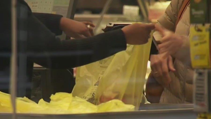 Store penalties begin in April for NY plastic bag ban