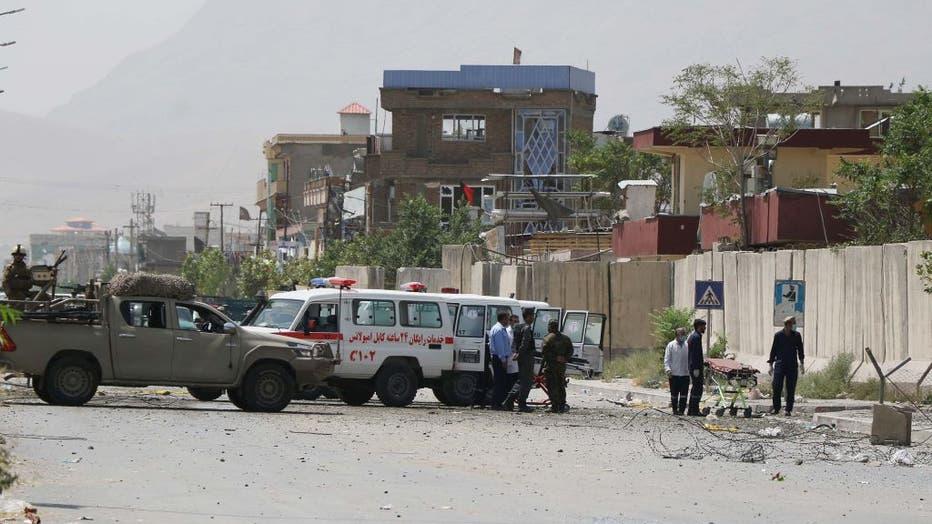 Car bombing hits Afghan capital