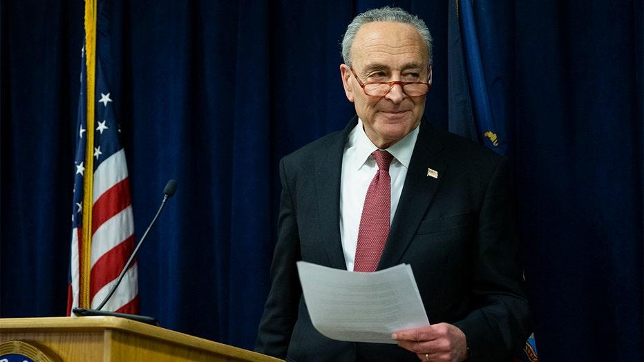 Senate Minority Leader Chuck Schumer (D-NY).
