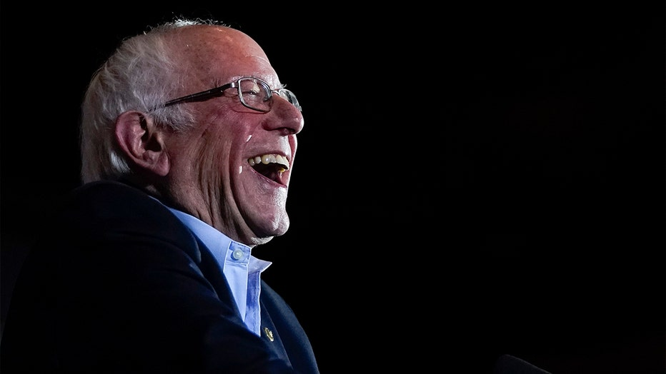 Democratic Presidential Candidate Sen. Bernie Sanders Campaigns In Texas