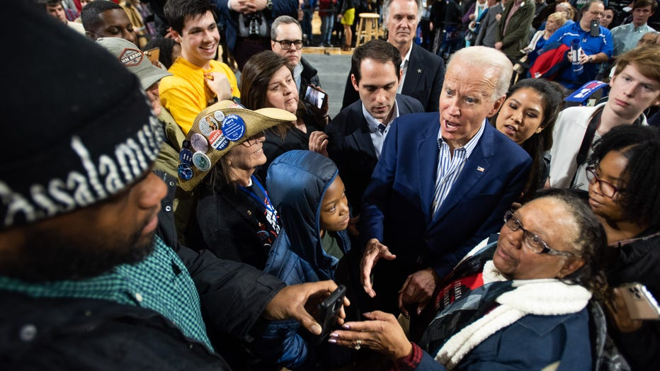 644b97c3-Presidential Candidate Joe Biden Campaigns Ahead Of Primary In South Carolina