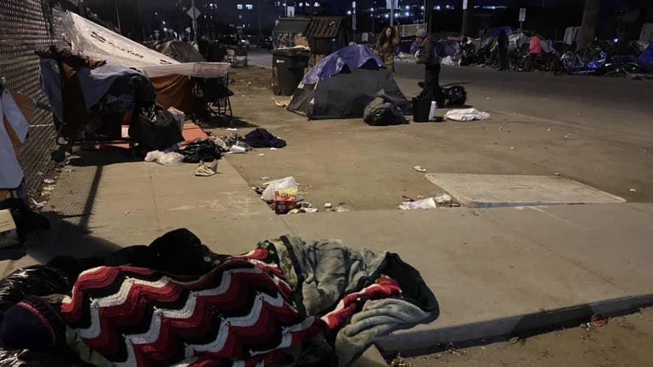 KSAZ Homeless Encampment 022420