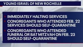 Westchester synagogue closed; congregants self-quarantined