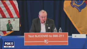Murphy issues 'stay-at-home' order for NJ residents