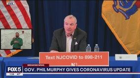Murphy announces that NJ coronavirus cases have reached over 1,300