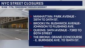 NYC testing street closures in Manhattan, Brooklyn, Queens, Bronx