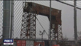 Fighting to save the gantries at the Port Morris Waterfront