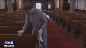 Worries over virus prompt changes in many worship services