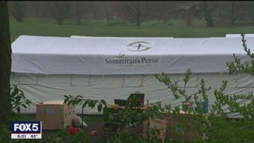 Field hospital being constructed in Central Park due to coronavirus