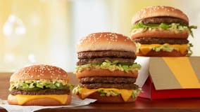 McDonald's debuts Double Big Mac with four beef patties
