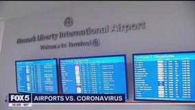 Travelers concerned over coronavirus screening at Newark Liberty Airport