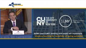 Cuomo: SUNY, CUNY classes to move online on March 19