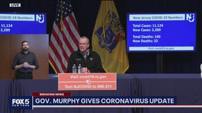 Coronavirus cases in New Jersey rise to over 11,000