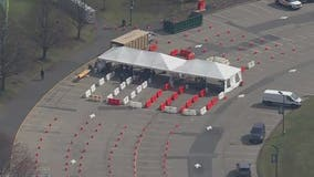 NJ's first drive-thru coronavirus testing site temporarily closes due to demand