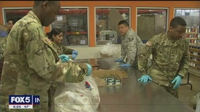 National Guard distributes food in New Rochelle