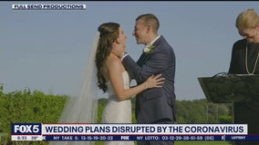 Pandemic forcing couples to put wedding plans on hold
