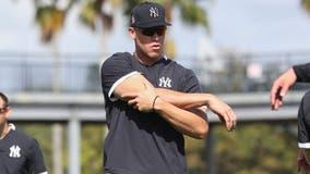 Yankees' Judge still hasn't resumed baseball activities