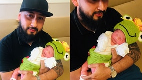 Baby born on Leap Day shares rare birthday with dad