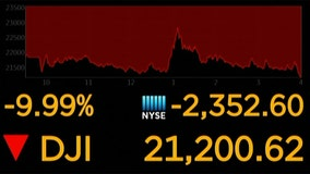 Wall Street has worst day since 1987 amid virus pandemic