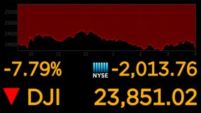 Oil free-fall, coronavirus fears slam markets; Dow drops 7.8%