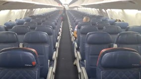Passenger posts video of 'mostly empty' flight to Orlando amid coronavirus