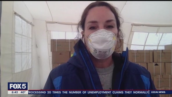 Disaster relief nurse in Italy describes caring for the sick