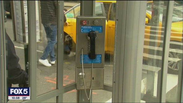 Last call for New York City's payphones