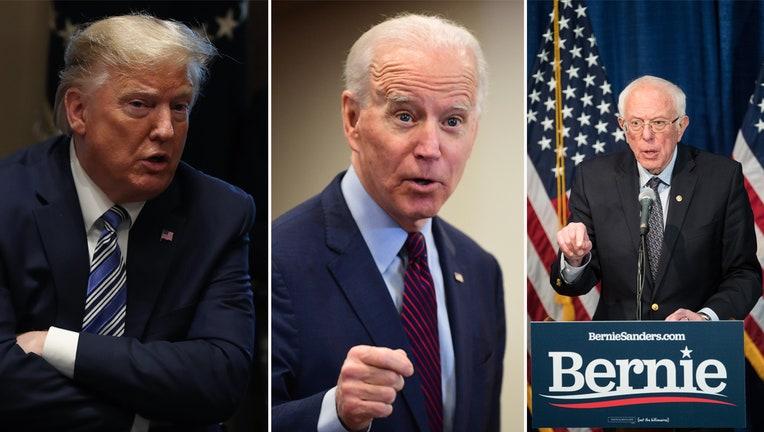 Getty Images_Trump_Biden_Sanders