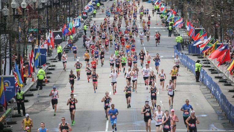 The123rd Boston Marathon