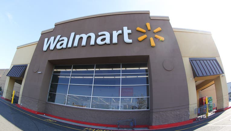 A general view of the front of a Walmart store on Springfield Road on March 22, 2020 in Union, NJ.