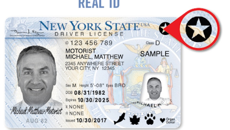 New York State REAL ID sample