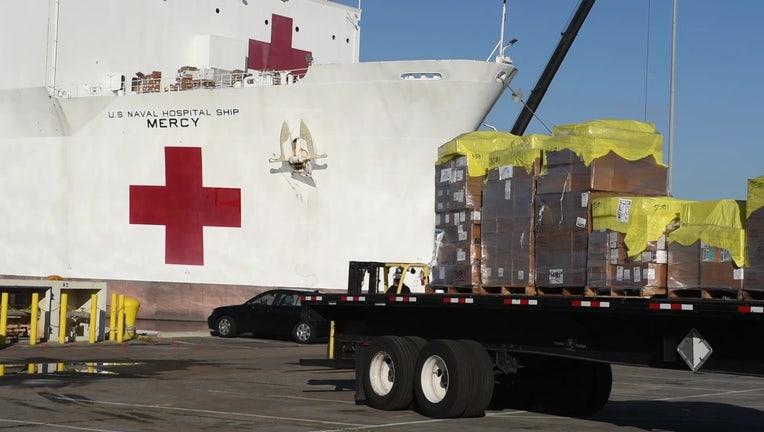 USNS Mercy hospital ship 1