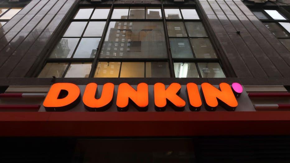 Dunkin Logo in New York City