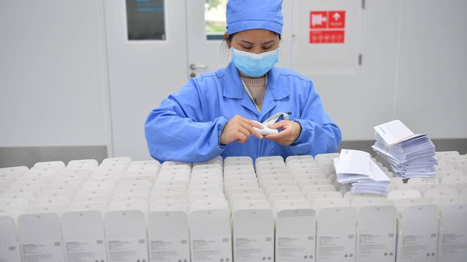Rapid Test Kit For Coronavirus Produced In Chengdu