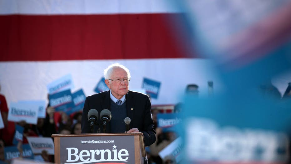 Presidential Candidate Bernie Sanders Holds Campaign Rally In Chicago