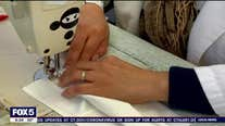 Fashion designer Naeem Khan creates special face mask for hospital workers