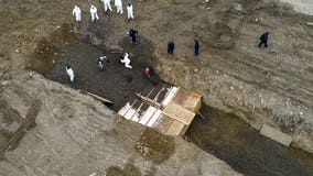 Hart Island burials soar during coronavirus pandemic