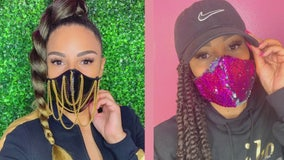 Cute for a cause: Designers create fashionable face masks