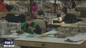 Americans crafting homemade face masks to help healthcare workers