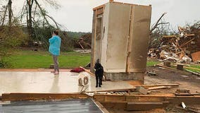 Concrete room saves Mississippi family of 4 from tornado